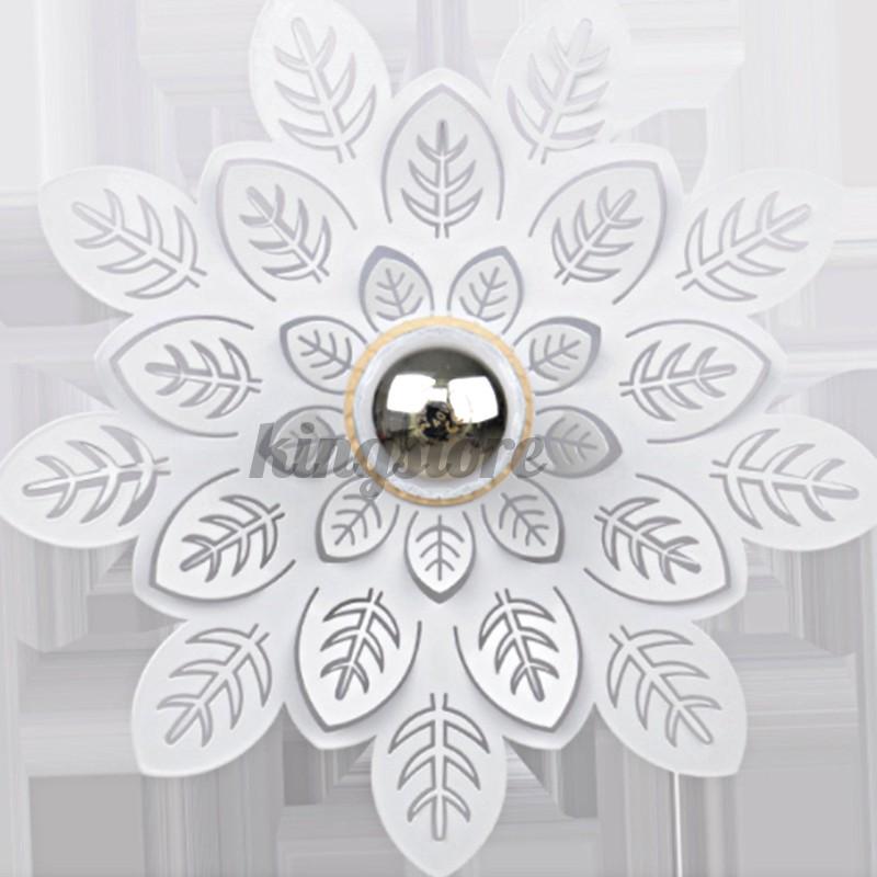 25cm/35cm Modern Leaf 3D LED Light Pendant Ceiling Lamp Chandelier Home Bedroom