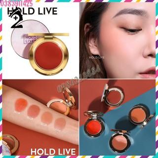 Phấn má đơn sắc Hold Live Pro Silk Satin Fog Blusher TPP thumbnail