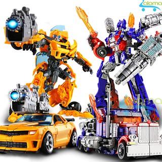 Robot biến hình ôtô Transformer cao 20cm mẫu Optimus hoặc Bumble Bee