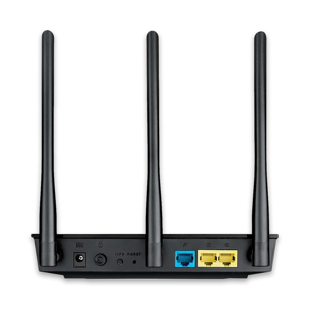 Bộ Phát Wifi Asus RT-AC53 Chuẩn AC750, 2 Băng Tần, Cổng Gigabit - Hàng Chính Hãng