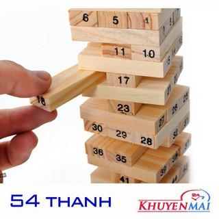 ✔ Bộ Trò Chơi Rút Gỗ 54 Thanh Wiss Toy (st.tm)