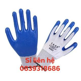 Găng tay bảo hộ lao động phủ cao su Pu 388 12 đôi loại 1 -500g