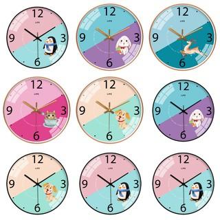 Đồng hồ treo tường kim trôi LIFE 30cm AOBA071-075