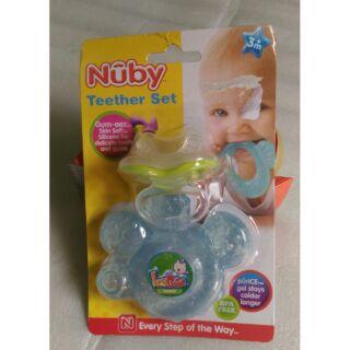 Set 02 đồ chơi gặm nướu lạnh cho bé Nuby