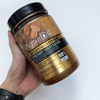 Kem ủ tóc Argan oil Creamy Hair Mask thumbnail