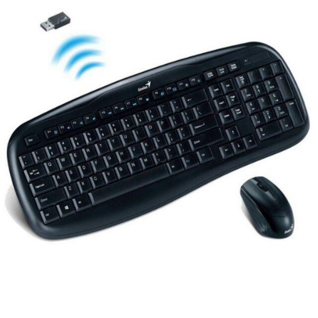 COMBO bàn phím ko dây và chuột GENIUS Giá chỉ 315.000₫