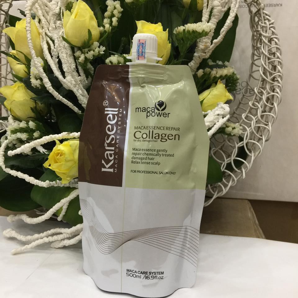 Hấp phục hồi Collagen Karseell Maca Bịch 500ml - 2469357 , 676601352 , 322_676601352 , 455000 , Hap-phuc-hoi-Collagen-Karseell-Maca-Bich-500ml-322_676601352 , shopee.vn , Hấp phục hồi Collagen Karseell Maca Bịch 500ml