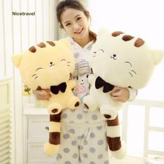 45cm Cute Cat Animal Plush Stuffed Doll Toy Huggable Throw Pillow Home Decor