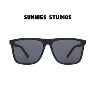 Kính mát Sunnies Studios Gọng Vuông Griffin in Ink thumbnail