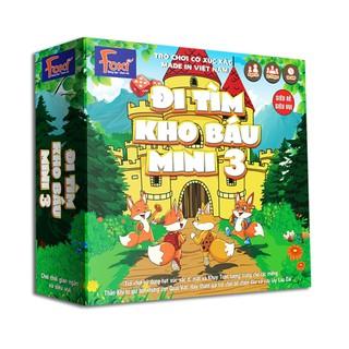 Board game-Đi tìm kho báu mini 3 Foxi-nâng cao khả năng xử lí tình huống-tranh luận-logic