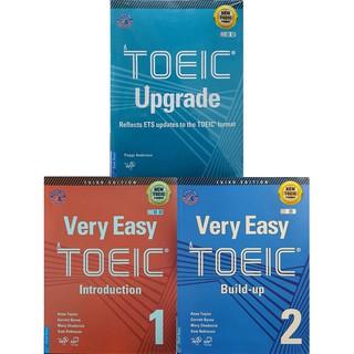 Sách - Combo 3 Cuốn Luyện Thi NEW TOEIC. Trình Độ Sơ - Trung Cấp (Very Easy TOEIC 1 + Very Easy TOEIC 2 + TOEIC Upgrade) thumbnail
