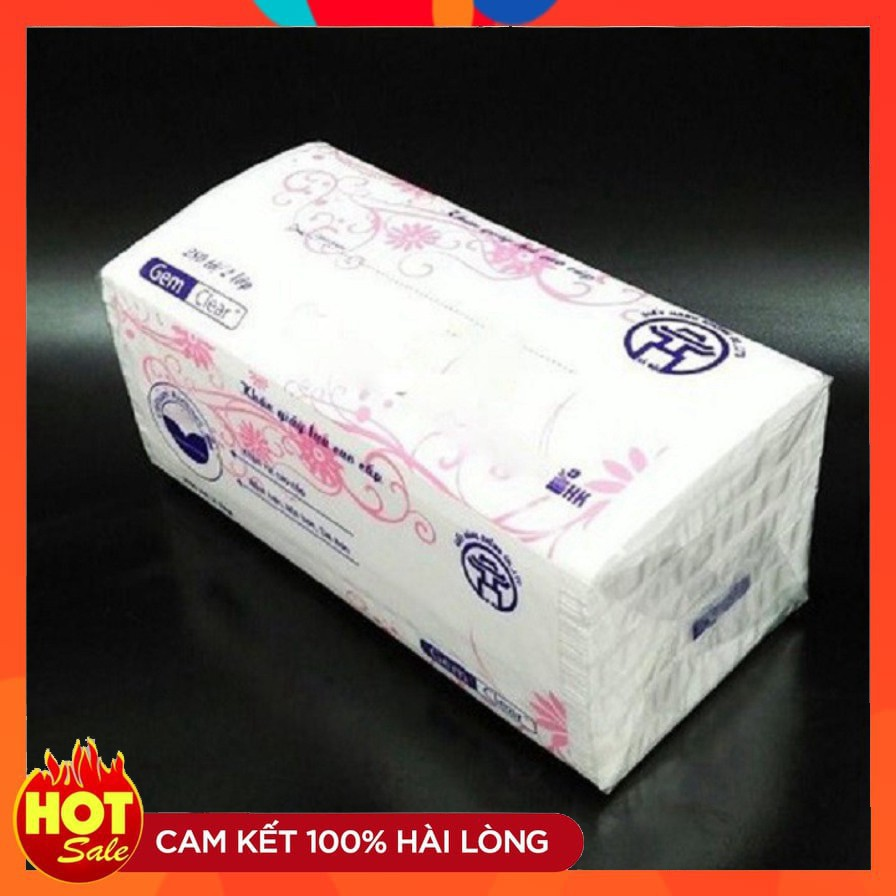 Giấy ăn lụa, khăn giấy rút cao cấp 1 gói khăn giấy rút 280 tờ