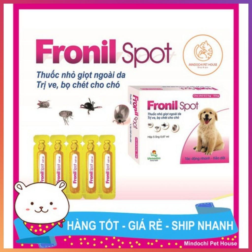 [FREESHIP] Thuốc Nhỏ Gáy Phòng Và Trị Ve Rận Bọ Chét Cho Chó Fronil Spot-