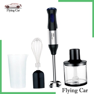 [giá giới hạn] 4 in 1 immersion hand stick blender mixer with chopper whisk attachment kit - hình 1