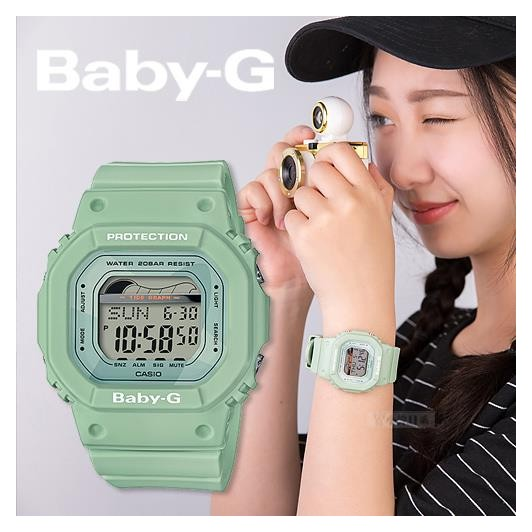 Đồng Hồ Casio Nữ Dây Cao Su BABY-G BLX-560 Chính Hãng