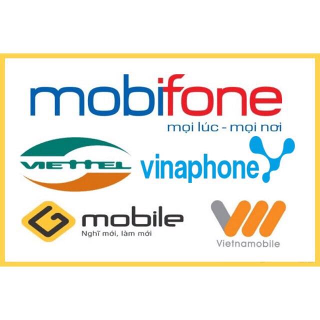 Thẻ điện thoại nạp trực tiếp vào SĐT khách yêu cầu