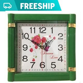 Đồng hồ treo tường hình vuông 25 x 25cm
