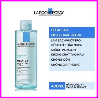 Nước tẩy trang dành cho da dầu La Roche-Posay Effaclar Micellar Water 400ml