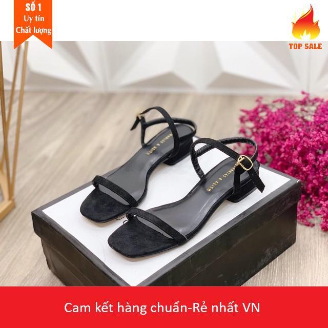 Xả kho [Giày HOT FREE] Xăng đan da lộn dây mảnh cực đẹp Hàng đẹp