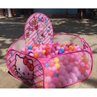 [SẬP GIÁ] Lều bóng mèo hồng kèm 100 bóng 2019 – SIÊU CHẤT LƯỢNG