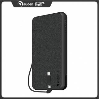 [Mã SKAMCLU9 giảm 10% đơn 100K] Sạc dự phòng Mophie Powerstation Plus XL Fabric 10.000mAh tích hợp cáp Lightning Micro thumbnail