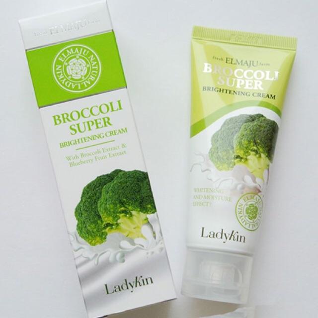 Kem dưỡng trắng da chiết xuất bông cải xanh Ladykin Hàn Quốc - 2837298 , 88852827 , 322_88852827 , 110000 , Kem-duong-trang-da-chiet-xuat-bong-cai-xanh-Ladykin-Han-Quoc-322_88852827 , shopee.vn , Kem dưỡng trắng da chiết xuất bông cải xanh Ladykin Hàn Quốc