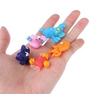 LIVI❤5x The Grossery Gang Model Trash Bug Soft Sticky Toy Doll For Kid