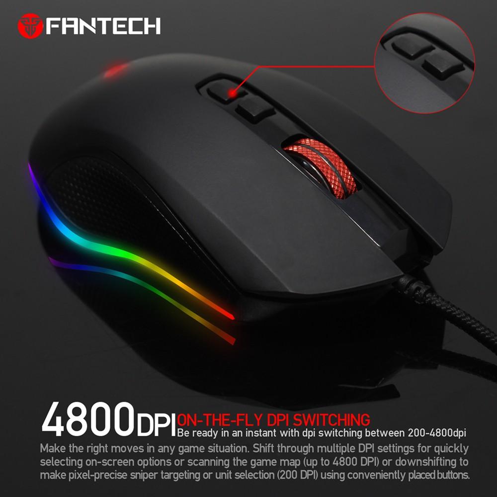 Chuột Gaming Fantech X5S ZEUS ( LED Chroma + phần mềm riêng )