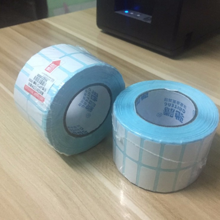 Combo 12.000 tem mã vạch in nhiệt không cần dùng mực cỡ 2x1cm, tem nhãn 20*10mm