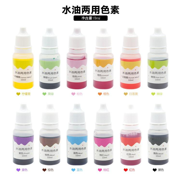 Tinh chất màu pha Epoxy Resin (màu trong) 10ml