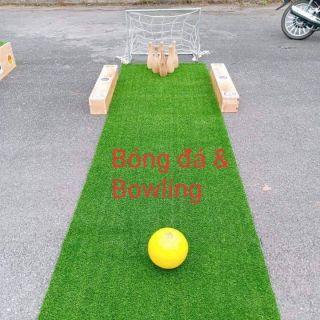 Footbowl( bóng đá và bowling)