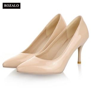 Giày cao gót nữ công sở 8cm Rozalo RW31897 thumbnail