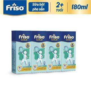 Lốc sữa bột pha sẵn Friso 110ml,180ml thumbnail