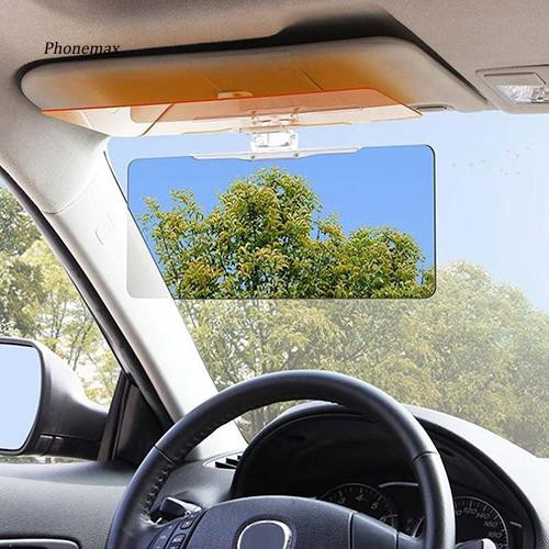 PNMX_Car Sun Visor Anti-Glare Blocker UV Fold Flip Down HD Clear View Sunshade