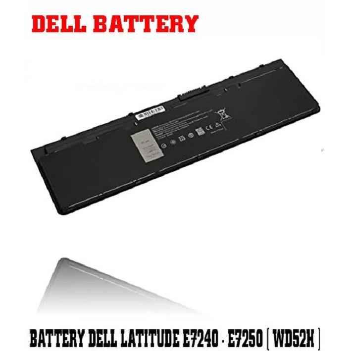 Pin DELL Latitude E7240 E7250 Cũ Thời gian sử dụng > 2.5h, Bảo hành 03 tháng.