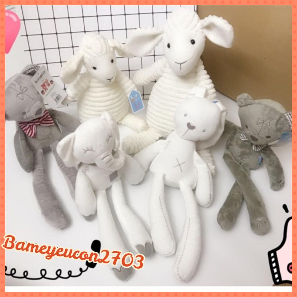Thú bông – gấu, thỏ, voi, cừu cho bé ôm ngủ