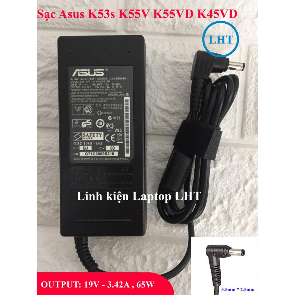 Sạc Laptop Asus K55V K45V K55VD K45VD OUTPUT 19V 4.74A (90W) chân thường kích thước 5.5mm * 2.5mm - Nhập Khẩu - 21824051 , 2701046964 , 322_2701046964 , 100000 , Sac-Laptop-Asus-K55V-K45V-K55VD-K45VD-OUTPUT-19V-4.74A-90W-chan-thuong-kich-thuoc-5.5mm-2.5mm-Nhap-Khau-322_2701046964 , shopee.vn , Sạc Laptop Asus K55V K45V K55VD K45VD OUTPUT 19V 4.74A (90W) chân t