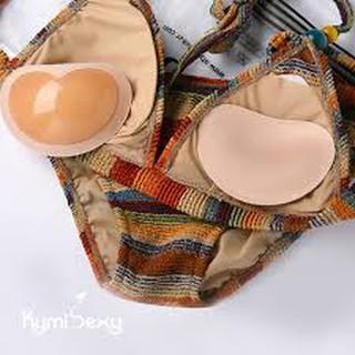 miếng mút độn ngực silicon trái tim độn dày 2,5cm