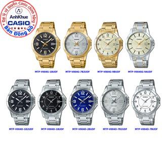 Đồng hồ nam Casio MTP-V004 MTP-V004D MTP-V004G MTP-V004SG dây thép bảo hành 1 năm chính hãng Anh Khuê thumbnail