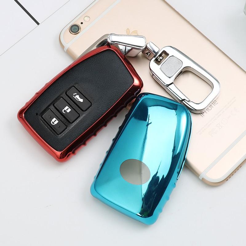 Bộ ốp mềm cho chìa khóa xe hơi Lexus NX GS RX IS ES GX LX RC 200 250 350 LS 450H300H