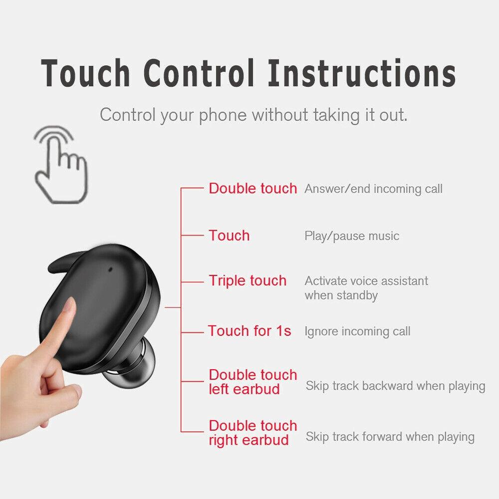 Tai Nghe Nhét Tai Tws Y30 Hỗ Trợ Bluetooth 5.0 Không Dây Âm Thanh Stereo 4d Cho Ios Android Kèm Hộp Sạc