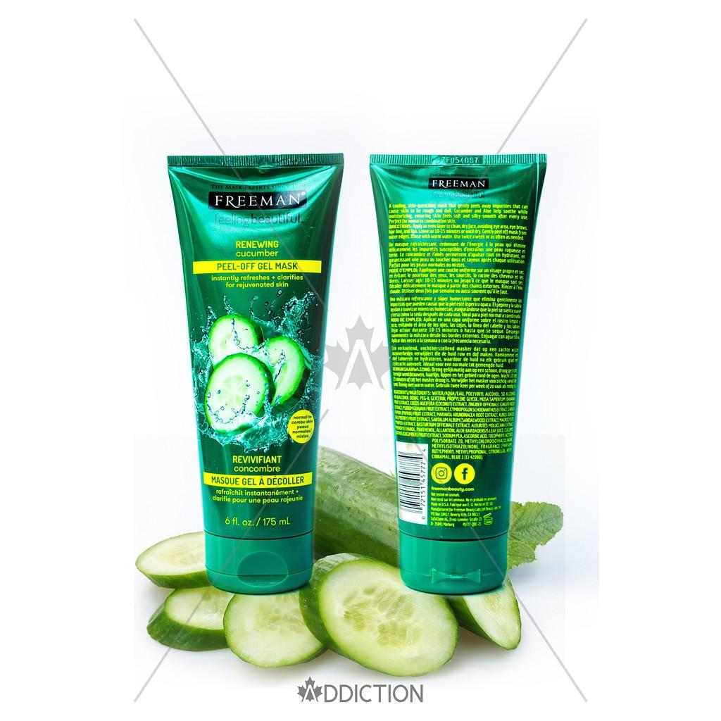 Mặt nạ Freeman Feeling Beautiful Mask – Cucumber (175ml)