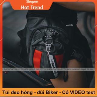 Túi đeo đùi đi phượt - túi đeo chéo đùi RAMBO Biker cao cấp dùng đi moto cực đẹp thumbnail