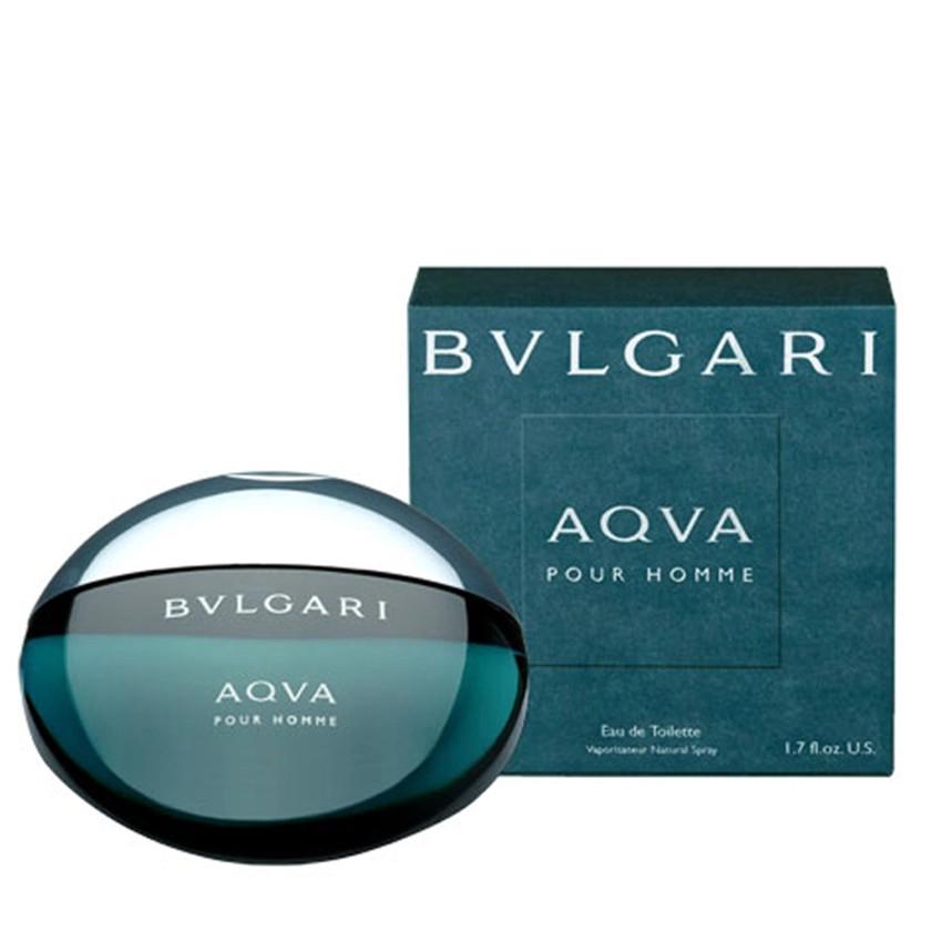 Bvlgari Aqva [Chính hãng từ Mỹ]  Pour Homme Eau De Toilette Nứơc hoa mini nam 5ml