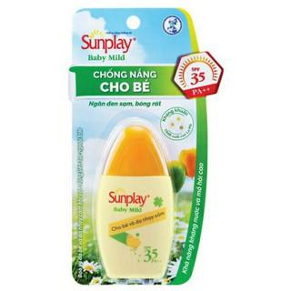 Kem chống nắng Sunlay Baby Mild cho bé và da nhạy cảm