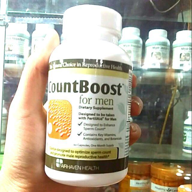 Countboost For men giúp tăng số lượng tinh trùng và hỗ trợ điều trị bệnh vô sin ở nam giới Úc 60v - 3479852 , 859943593 , 322_859943593 , 600000 , Countboost-For-men-giup-tang-so-luong-tinh-trung-va-ho-tro-dieu-tri-benh-vo-sin-o-nam-gioi-Uc-60v-322_859943593 , shopee.vn , Countboost For men giúp tăng số lượng tinh trùng và hỗ trợ điều trị bệnh vô s
