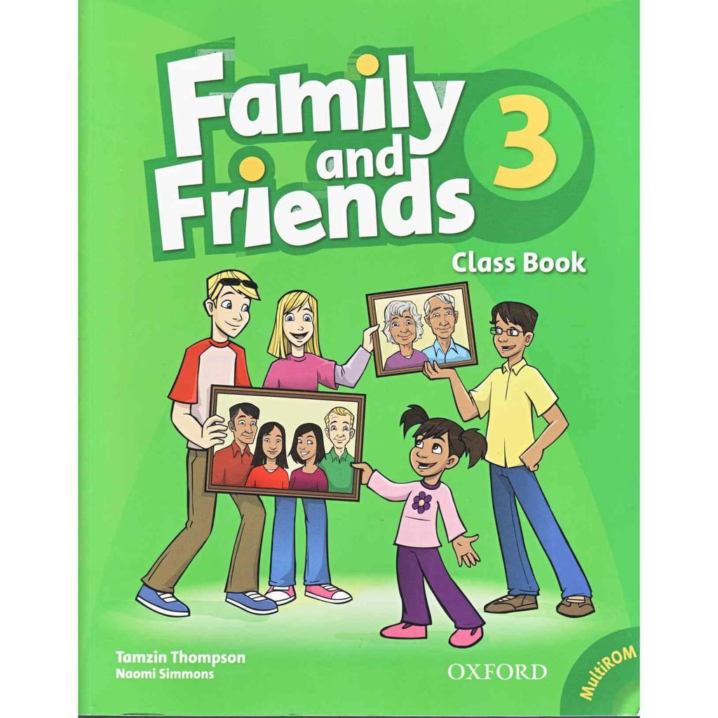 Family and Friends 3 Class Book Full màu