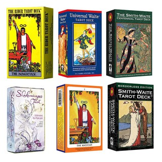 BLLP_Tarot Rider Shallow English Version Mysterious Cards Family Party Supplies Gift