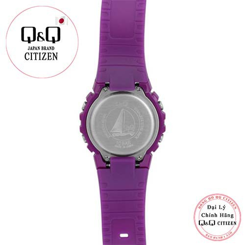 Đồng hồ nữ điện tử Q&Q Citizen M138J004Y dây nhựa thương hiệu Nhật Bản