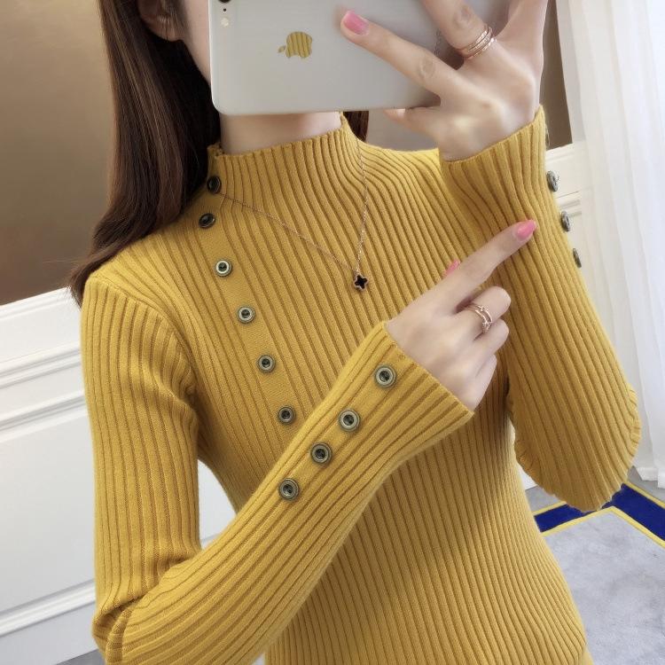 Áo Thun Sweater Hàn Quốc Cổ Lọ